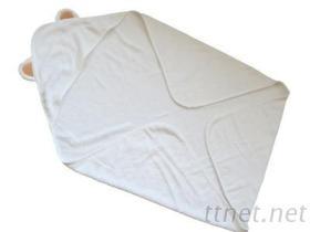 婴儿包巾-小熊造型包巾
