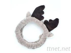 造型珊瑚绒发带