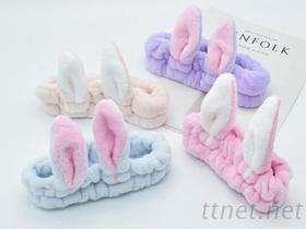 可爱兔子耳朵发带