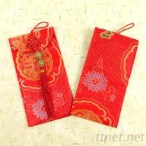 BNRG0918福字回格龙凤布大红包袋