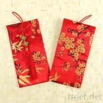 BNRG0920福字金梅布大红包袋