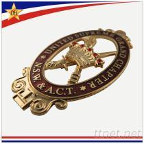 廠家直銷琺琅徽章, 高檔金屬徽章定制款