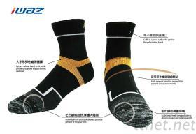 吸濕排汗運動襪,型號SP001B2,尺寸L(26-28cm)