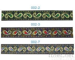 提花織帶, 緞帶揹包