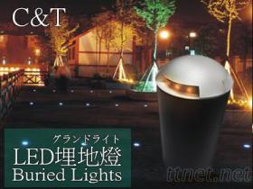 户外LED 3w 小埋地灯