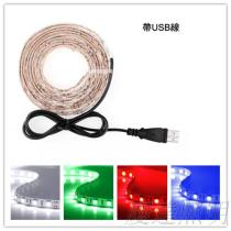 LED燈條 5050-USB 5V露營燈 行動電源可充電