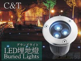 LED3W地埋灯