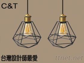 LED艺术灯具, 咖啡厅餐厅灯具復古灯具工业风