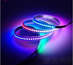 LED5050幻彩灯条5V-144灯/米 IC-WS2812