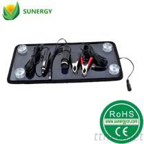 12V汽车电瓶车载充电器太阳能车载充用充电器8.5W20V