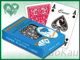 QUEEN撲克紙牌 - 4角標示版
