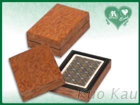 撲克牌單副木盒裝, 天地盒型