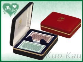 PU珠寶盒, 撲克牌雙付裝