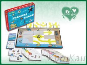 尋寶無人島紙牌遊戲組
