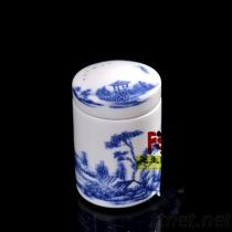 景德鎮陶瓷茶葉罐 膏方罐 醬菜罐 中藥材罐廠家直銷