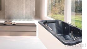 休閒會所單人水療按摩浴缸