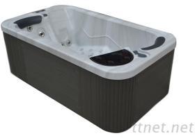 深圳五星級酒店室內雙人水療按摩浴缸
