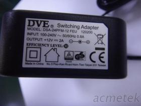12V 2A-EU 歐規變壓器