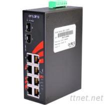 8埠工業級PoE+非網管型乙太網路交換器