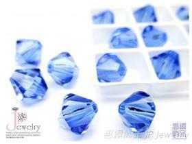 型號5328 採用施華洛世奇水晶元素 角珠 DIY串珠材料 原廠包