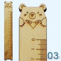 造型動物尺-台灣黑熊