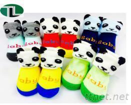 【3804】3D立體小貓熊 鞋襪