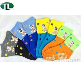 847-聖誕熊防滑襪