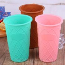 廠家定制耐高溫防水矽膠杯套 生活日用創意矽膠製品馬克杯套