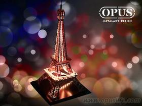 巴黎灯饰 情境灯 桌灯 led 巴黎铁塔摆饰 建筑模型