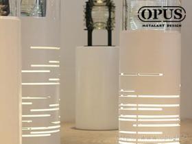 OPUS 東齊金工 航港局燈塔修護工場 展示燈座 公共藝術 雷射雕刻