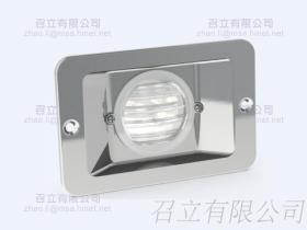 四方 LED 不鏽鋼崁燈