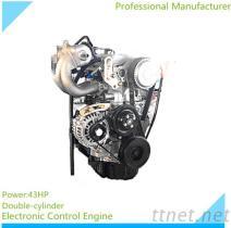 ATVUTV摩托車配件雙缸電噴發動機