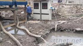 洗沙汙水處理設備, 洗沙場砂石沖洗泥漿脫水機