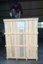 木箱, 木條箱,展覽箱(可回收重覆利用、鎖螺絲)