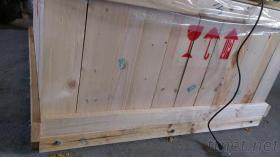 展覽箱,機械箱, 機械箱量身訂製, 檢疫熱處理, 鎖螺絲固定