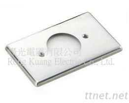 引挂式暗插座用白铁盖片