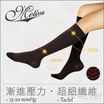 Melissa魅莉莎醫療級時尚彈性襪