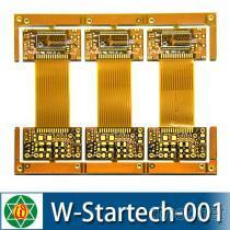 四層印刷電路板/雙面軟性電路板