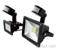 LED感应式投射灯