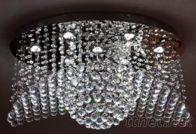 LED铜丝水晶灯