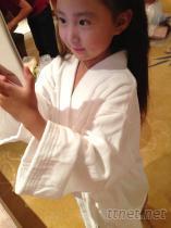 純棉兒童浴衣浴袍, 純棉加厚浴衣, 睡袍