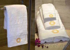 星級賓館純棉面巾加厚吸水全棉毛巾