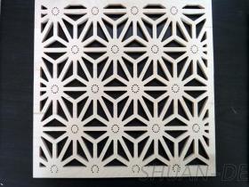 鏤空窗花造型板