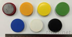 玻璃白板專用異方性磁鐵38x10m