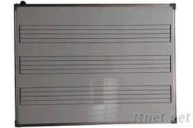 120*90cm五線譜白板