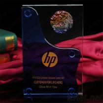 水晶證書 精美實惠水晶獎盃 k9水晶榮譽獎牌