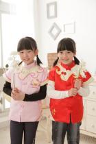女童可愛中國服