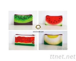 高週波製品水果拉鍊化妝包