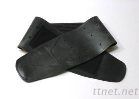 天然橡膠護腰-黑色