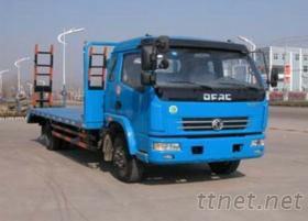 东风多利卡挖掘机拖车 15吨以内的挖机平板拖车